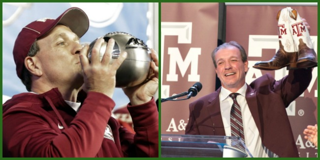 Jimbo moves from FSU to Texas A & M