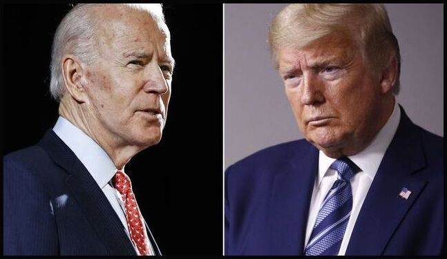 Biden- Trump Photo