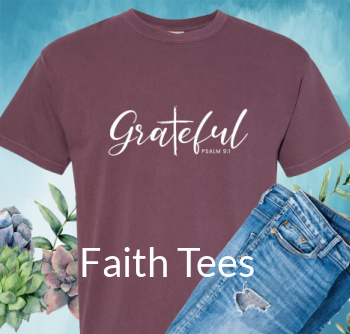 Faith Tees @ Pepper Apparel Co