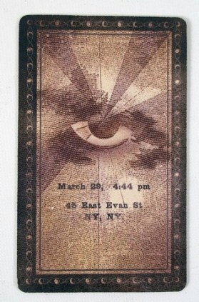 air eye of horus single card back