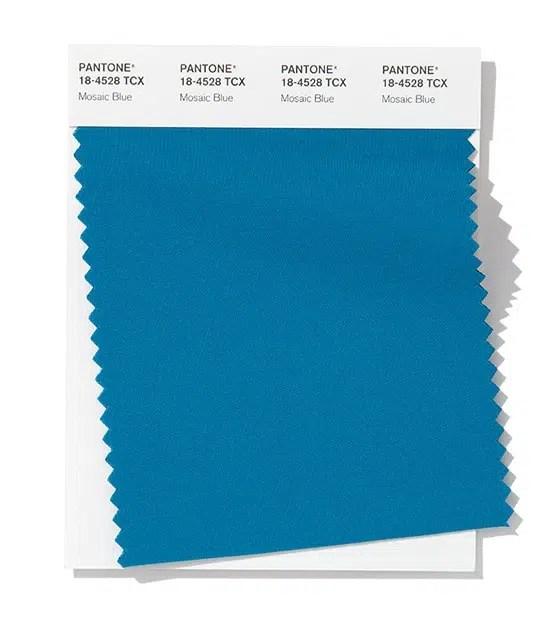 Pantone - mosaic blue