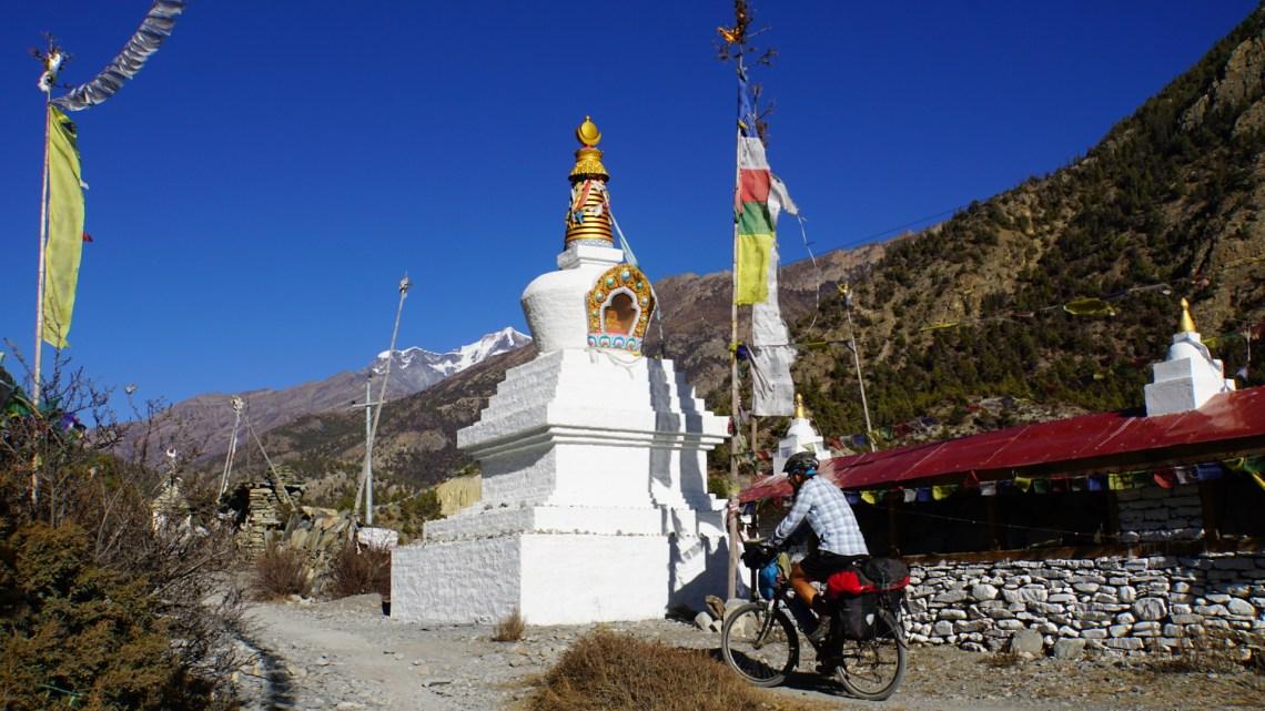 Zeitungsbericht über meine Himalaya Tour