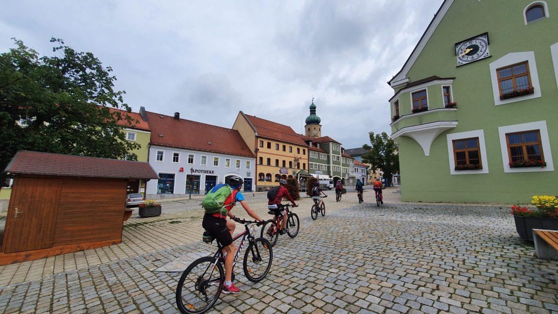"""Zeitungsbericht über meine """"Bayerischer Wald MTB-Tour"""""""