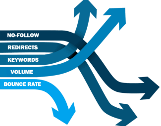 SEO arrows