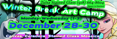 Winter Break Cart Camp - Tulsa Stained Glass