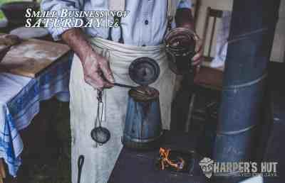 Harper's Hut - Small Business Saturday