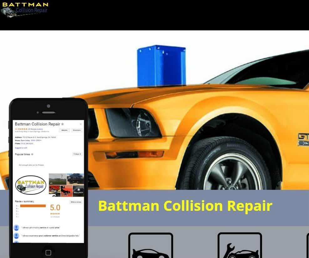 Battman Case Study Graphic