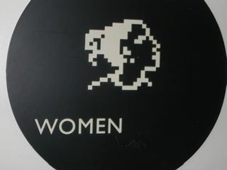 アップル本社のトイレ女性用