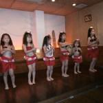 七夕まつりのフラダンス