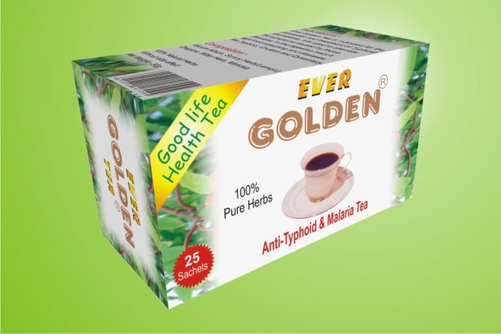 Anti thyphoid and malaria tea