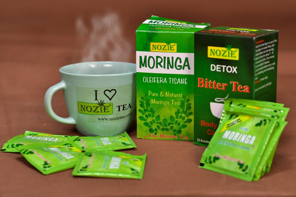 Hot Moringa Detox Tea