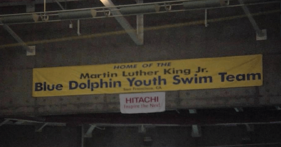 The MLK Blue Dolphin Swim Team