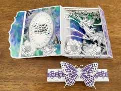 Fairy Card open