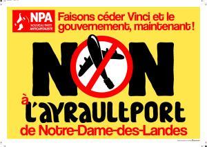 Affiche NPA NDDL