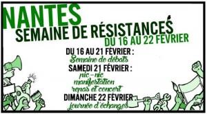 nantes semaine de résistance