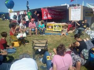 NPA NDDL débat écosocialisme Christine Poupin Philippe Poutou 9 juillet 2016