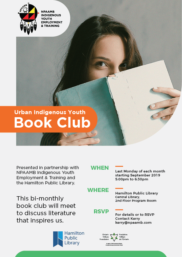 Urban Indigenous Youth Book Club