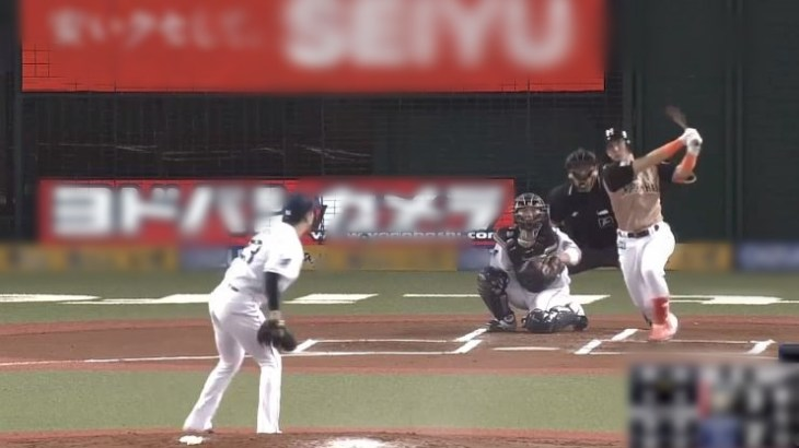 【GIF】野球芸人こと杉谷拳士さん、2015年以来のホームランを放つ