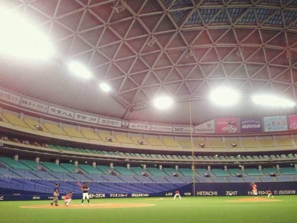 【画像】ナゴヤドームで草野球した結果wwwwwwwwwwww