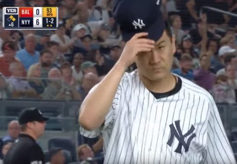 NYY田中将大(29) 160勝65敗 2081.2回 1977奪三振