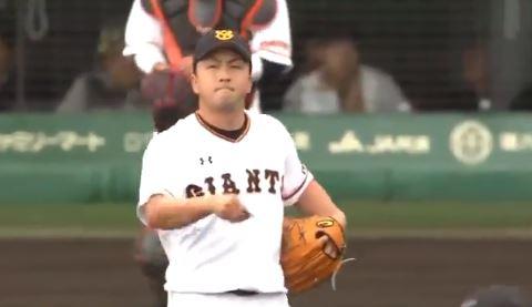【悲報】巨人・澤村さん、登板直後の2球目を横尾にホームラン打たれる