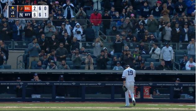 【朗報】ヤンキース開幕投手・田中将大、5回2/3 被安打6 無四死球 2失点の好投