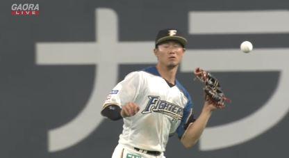 【GIF】日ハム西川遥輝さんの怠慢プレーwwwwwwwww