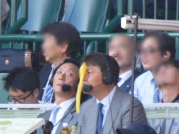 【画像】新井貴浩さん、金本知憲さんとの初解説で早速ミラクルを起こしてしまう