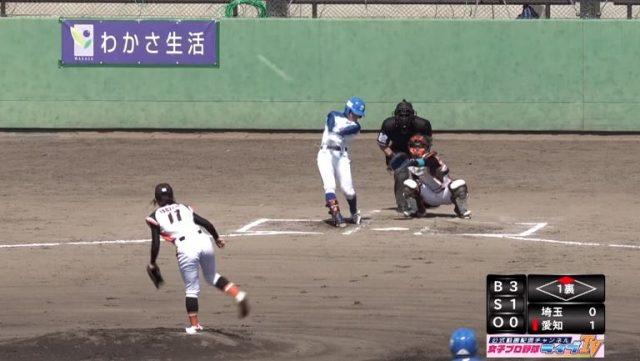 【朗報】女子プロ野球で余裕の柵越えホームラン【動画】