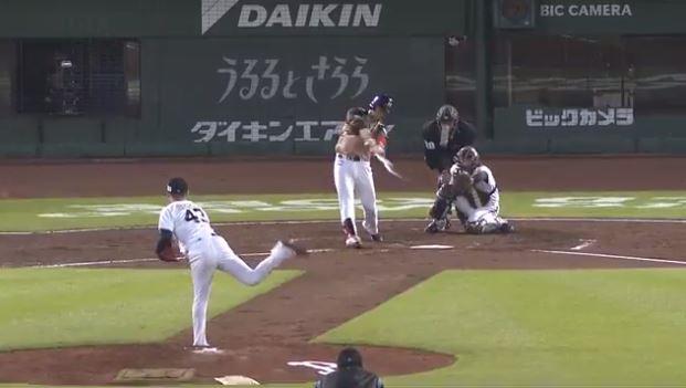 日本ハム・王柏融 .304(69-21) 1本 12打点 OPS.771