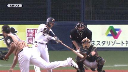 【GIF】オリックス吉田正尚、自身初の3試合連続ホームラン!!