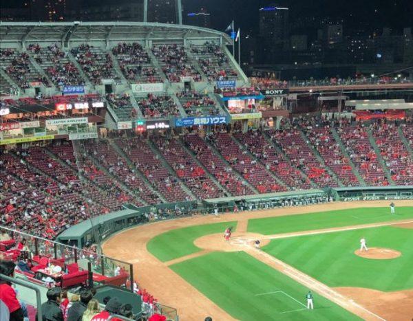 【悲報】昨日(4/9)のプロ野球の観客数が酷い・・・