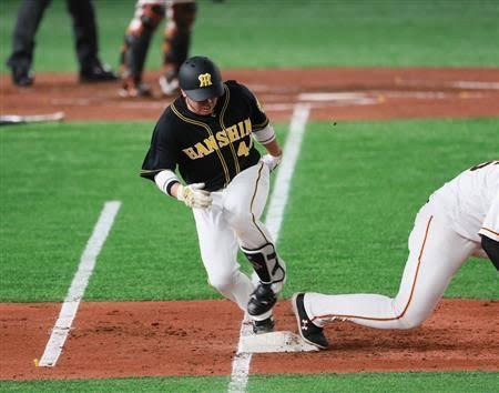 【悲報】阪神・梅野、左足薬指骨折も強行出場へ…