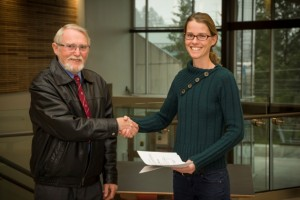 2015 Bursary award winner - Jennifer Scott at Camosun College