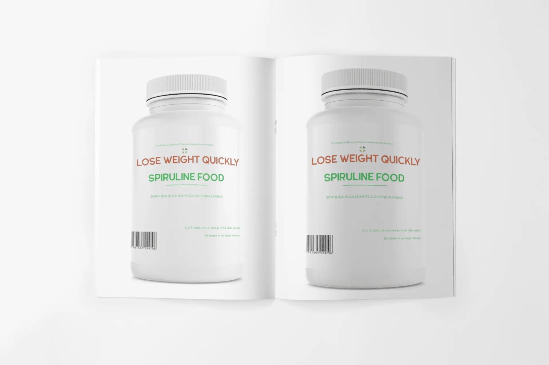 SPIRULINE Food - LQW (2 unità)