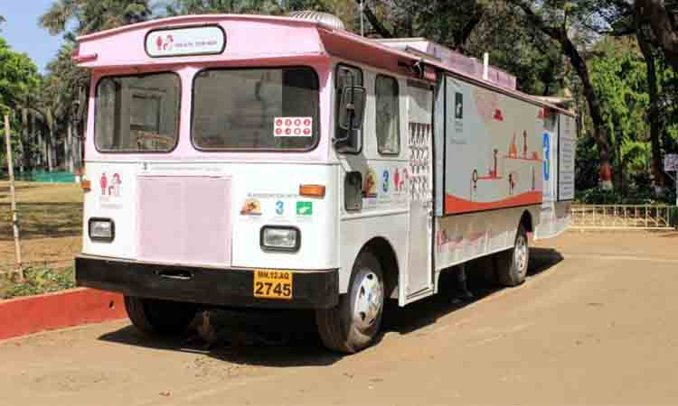 Mobile toilets for women launched in Pune - NP News24 %