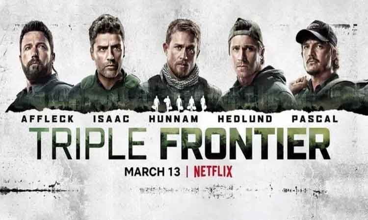 Triple Frontier': An all boys 'Fear Factor' (Review) - NP News24