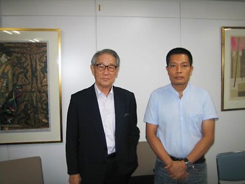 20150902ミャンマーNLD日本代表タンゼン・ウ氏来法02