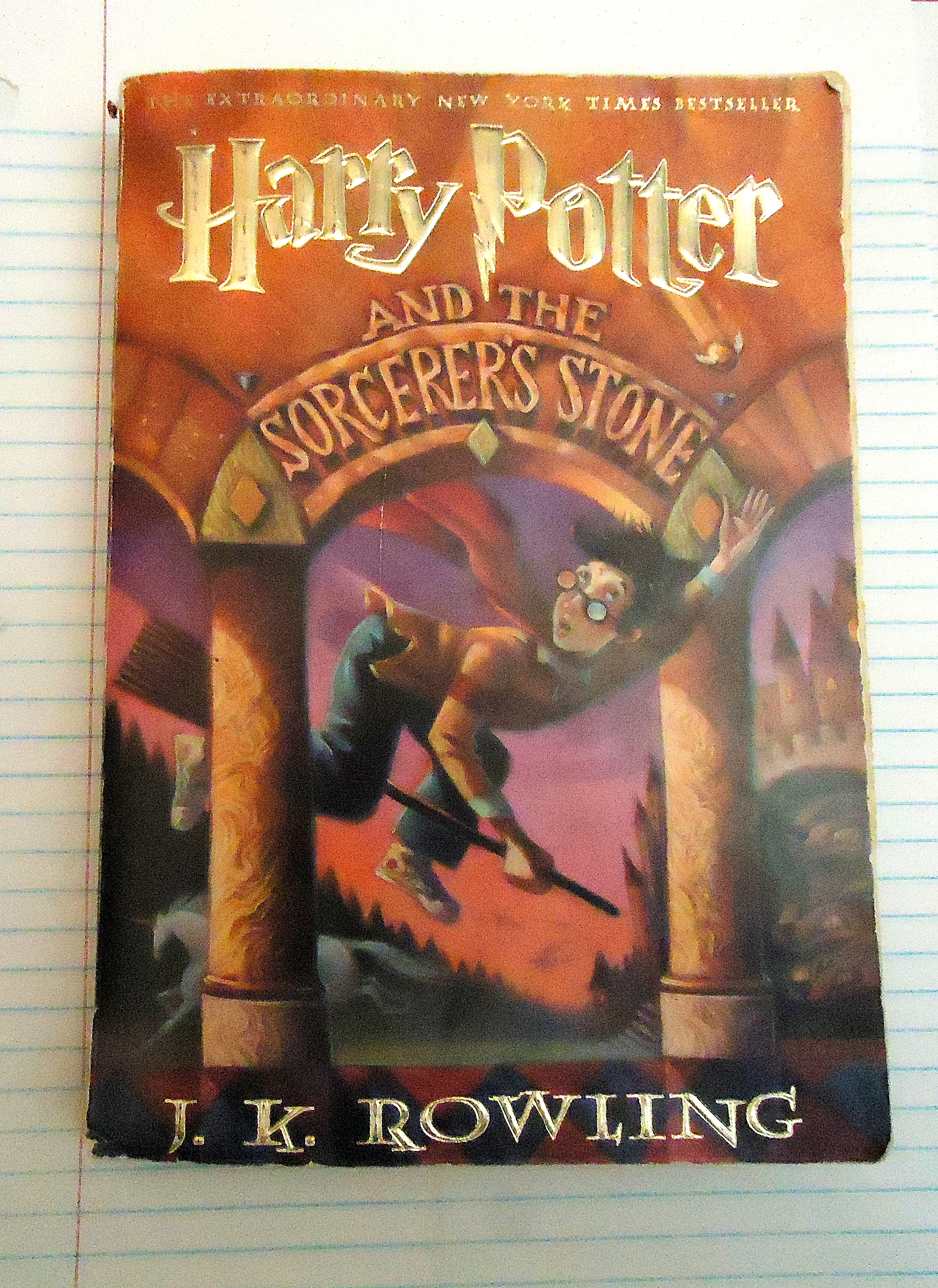A Tattered Personal Edition Of Harry Potter And The