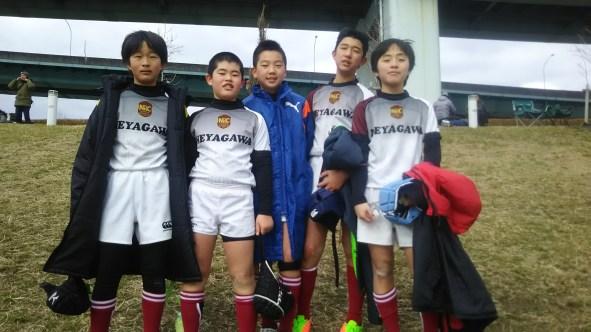 芦屋RS新春ラグビー大会