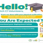 What to Do After Physical Verification for Npower 2021 Batch C Stream 1 Volunteers