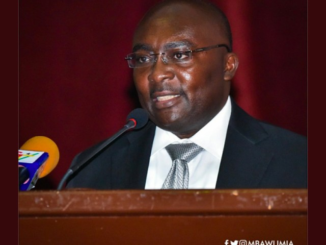 Dr Bawumia Appointed to Board of UN's Global Partnership for Sustainable Development Data