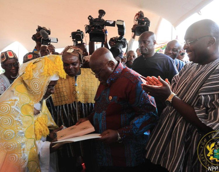 """DAMONGO IS CAPITAL OF SAVANNAH REGION"" – PRESIDENT AKUFO-ADDO"