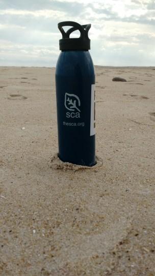 My trusty SCA waterbottle