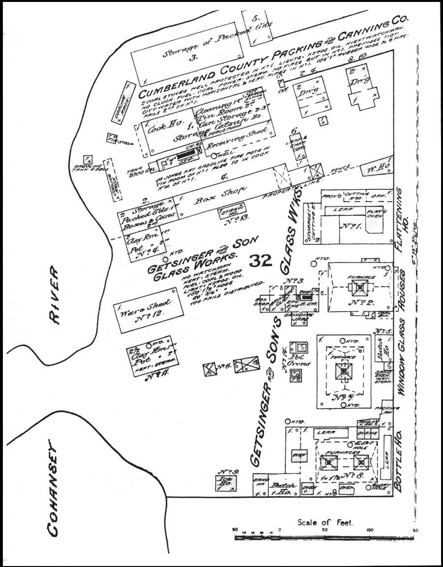 Map diagram