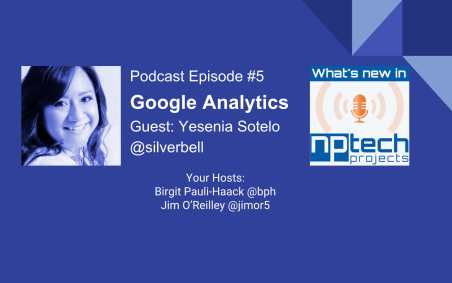 Yesenia Sotelo and Google Analytics