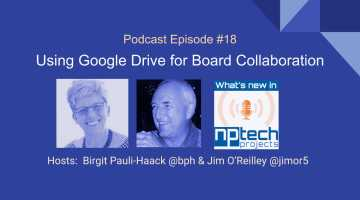 Episode #18: Using Google Drive for Board Collaboration