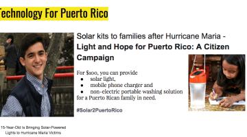 Light & Hope for Puerto Rico