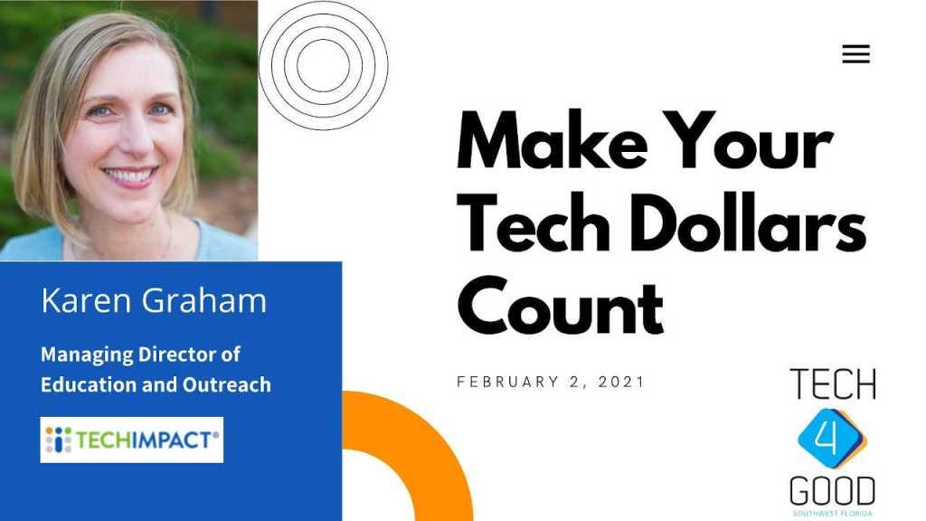 Tech4Good Meeting w/ Karen Graham