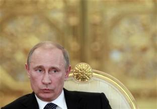 12月20日、古代マヤ文明の暦に基づいて「滅亡の日」とされる12月21日が目前に迫る中、ロシアのプーチン大統領は、世界が終わるのは「45億年後」との自説を展開した。モスクワで19日撮影(2012年 ロイター/Maxim Shemetov)
